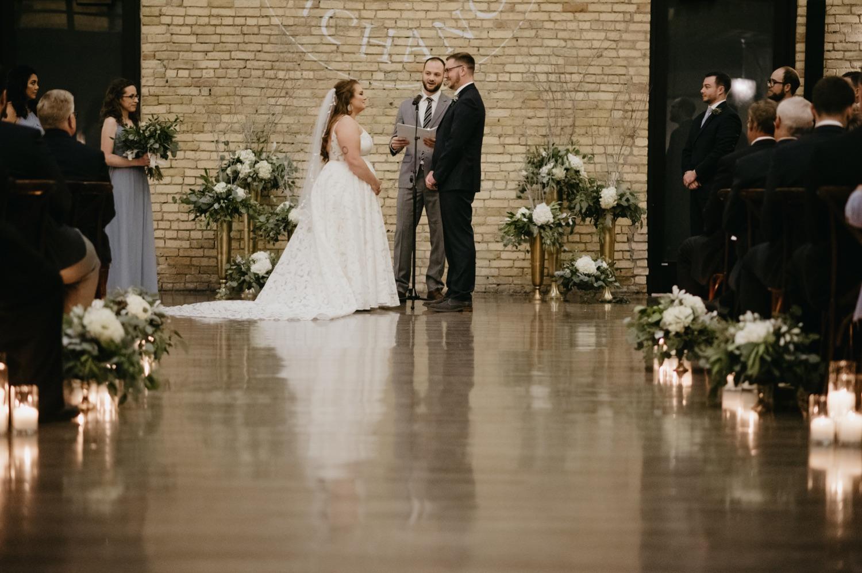wedding ceremony lumber exchange minneapolis