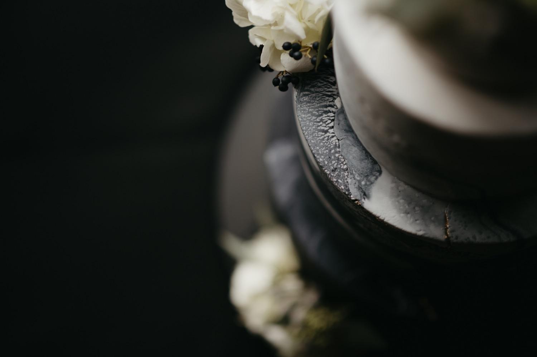 ink sweets black and white marble cake lumber exchange minneapolis wedding